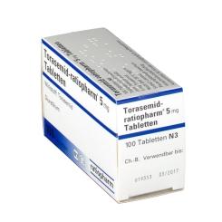 Torasemid ratiopharm 5 mg Tabl.