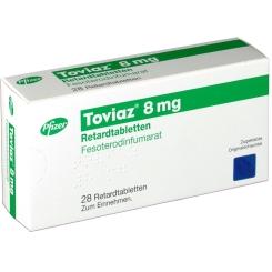 TOVIAZ 8 mg Retardtabletten