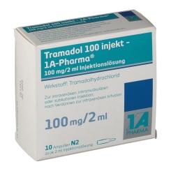 Tramadol 100 Injekt 1a Pharma Amp.