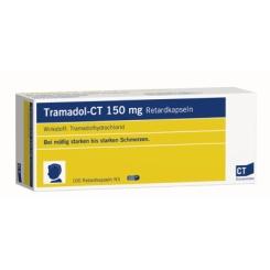 Tramadol - CT 150 mg Retardkapseln