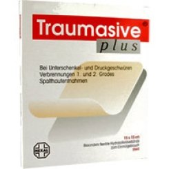 Traumasive® plus, 10 x 10 cm Hydrokolloidverband