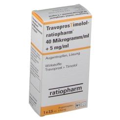 TRAVOPROSTIMOLOL-ratio.40 µg/ml + 5 mg/ml Augentr.