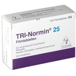 Tri-normin 25 Filmtabl.