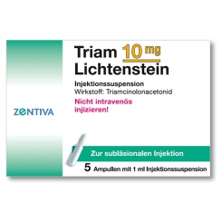 Triam 10 Lichtenstein Kristallsuspension Amp.