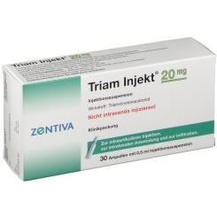 Triam Injekt 20 mg Kristallsusp. Amp.