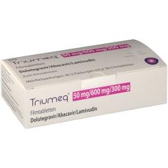 TRIUMEQ 50MG/600MG/300MG