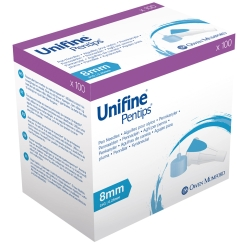 Unifine® Pentips® Pennadeln 8 mm