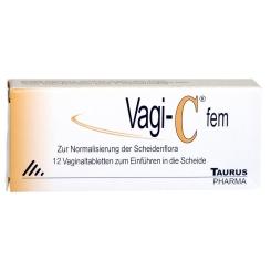 Vagi-C® fem Vaginaltabletten