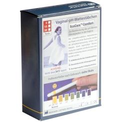 Vaginal pH-Wattestäbchen EcoCare Comfort