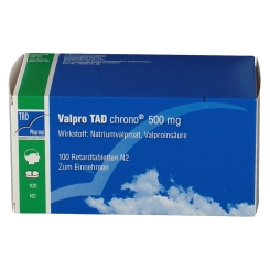VALPRO TAD Chrono 500 mg Retardtabletten