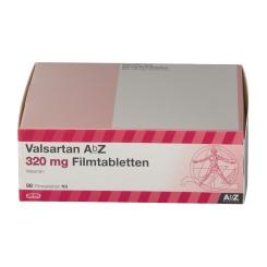 VALSARTAN AbZ 320 mg Filmtabletten