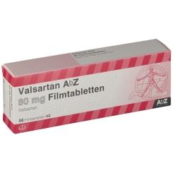 VALSARTAN AbZ 80 mg Filmtabletten