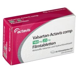VALSARTAN Actavis comp 160 mg/25 mg Filmtabletten