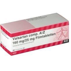VALSARTAN comp.AbZ 160 mg/25 mg