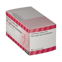 VALSARTAN comp.AbZ 320 mg/25 mg Filmtabletten
