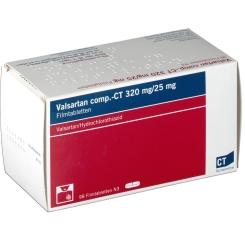 VALSARTAN comp.-CT 320/25 mg Filmtabletten