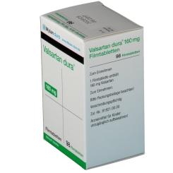 Valsartan dura® 160 mg Filmtabletten