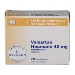 VALSARTAN HEUMANN 40MG FTA