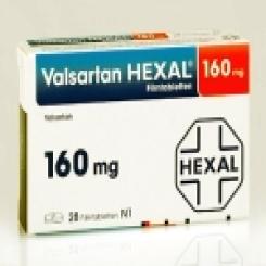 VALSARTAN HEXAL 160 mg Filmtabletten