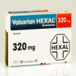 VALSARTAN HEXAL 320 mg Filmtabletten