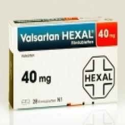 VALSARTAN HEXAL 40 mg Filmtabletten