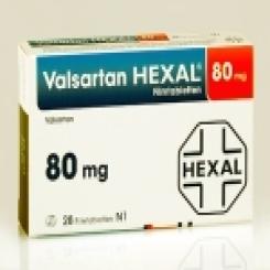 VALSARTAN HEXAL 80 mg Filmtabletten