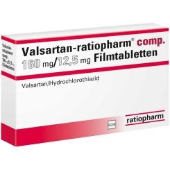 Valsartan-ratiopharm® comp. 160 mg/25 mg Filmtabletten