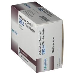 VALSARTAN Zentiva 320 mg Filmtabletten