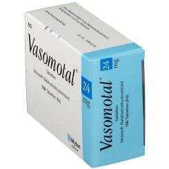 Vasomotal 24 mg Tabl.