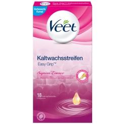 Veet® Suprem'Essence Kaltwachs-Streifen