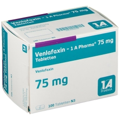 Venlafaxin 1 A Pharma® 75 mg Tabletten
