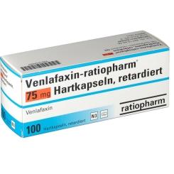 VENLAFAXIN ratiopharm 75 mg Hartkaps.retardiert