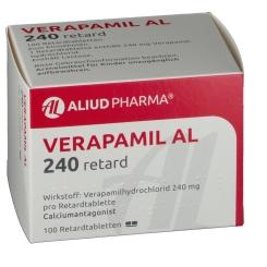 Verapamil Al 240 Retardtabletten