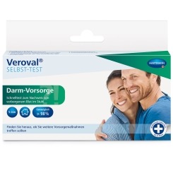 Veroval® SELBST-TEST Darm-Vorsorge
