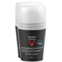 VICHY Homme Deo Roll On für sensible Haut -Doppelpack-