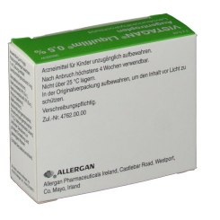 Vistagan Liquifilm 0,5% Augentropfen