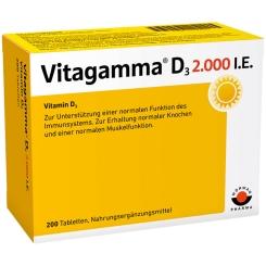 Vitagamma® Vitamin D3 2.000 I.E.