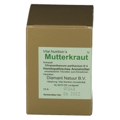Vital Nutrition´s Mutterkraut