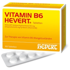 VITAMIN B 6 - HEVERT® Tabletten