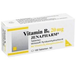 Vitamin B6 20 mg JENAPHARM®