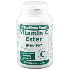Vitamin C Ester gepuffert 400 mg vegetarisch