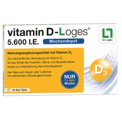 vitamin D-loges® 5.600 I.E.
