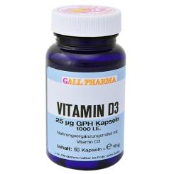 Vitamin D3 25µg GPH Kapseln