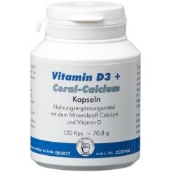 Vitamin D3 + Coral-Calcium Kapseln