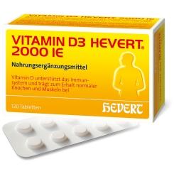 VITAMIN D3 HEVERT® 2000 IE