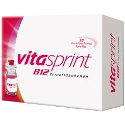 vitasprint B12 Trinkfläschchen + Gedächtnistrainig Quizkarten Gratis