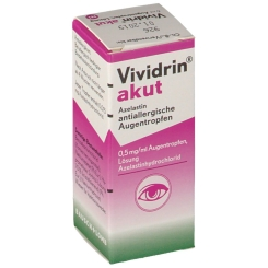 Vividrin® akut Azelastin allergische Augentropfen