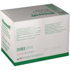 Vliwasoft® Vliesstoffkompresse 10 cm x 10 cm 4lagig steril