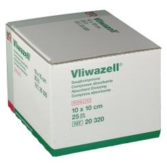 Vliwazell® hochsaugfähige Universalkompresse steril 10 cm x 10 cm