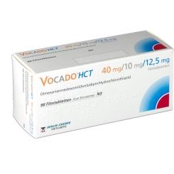 VOCADO HCT 40 mg/10 mg/12,5 mg Filmtabletten
